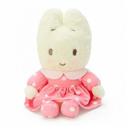 〔小禮堂〕兔媽媽 絨毛玩偶娃娃《S.米.粉洋裝》擺飾.玩具