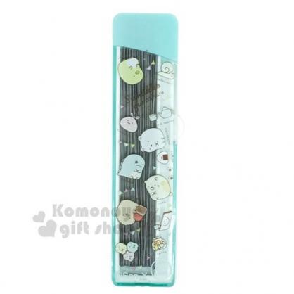 〔小禮堂〕角落生物 盒裝自動鉛筆筆芯《綠.食物》0.5mm.2B筆芯.學童文具