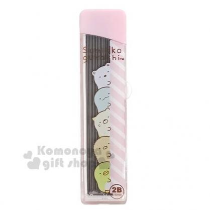 〔小禮堂〕角落生物 盒裝自動鉛筆筆芯《粉.探頭》0.5mm.2B筆芯.學童文具