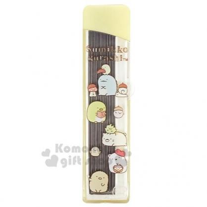 〔小禮堂〕角落生物 盒裝自動鉛筆筆芯《黃.畫家帽》0.5mm.2B筆芯.學童文具