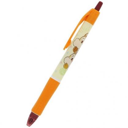 〔小禮堂〕迪士尼 奇奇蒂蒂 日製原子筆《黃橘.堆疊》0.5mm.自動筆.Acroball系列