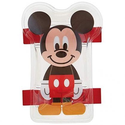 〔小禮堂〕迪士尼 米奇 造型透明果凍凝膠感保冷劑《紅黑.站姿》保冰劑.冰墊.冰敷袋