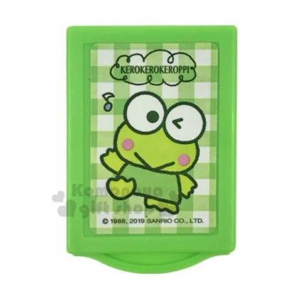 〔小禮堂〕大眼蛙 魔術抽屜盒裝橡皮擦《綠》擦布.學童文具