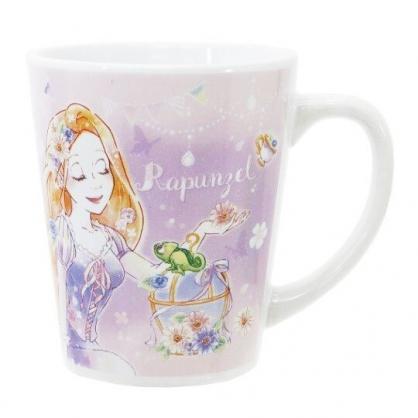 〔小禮堂〕迪士尼 長髮公主 陶瓷馬克杯《紫.馬卡龍》茶杯.咖啡杯