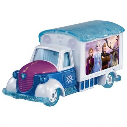 〔小禮堂〕迪士尼 冰雪奇緣2 TOMICA小汽車 電影宣傳車《藍紫》公仔.模型.玩具