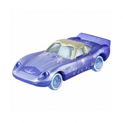 〔小禮堂〕迪士尼 冰雪奇緣2 艾莎公主 TOMICA小汽車 經典跑車《藍銀》公仔.模型.玩具