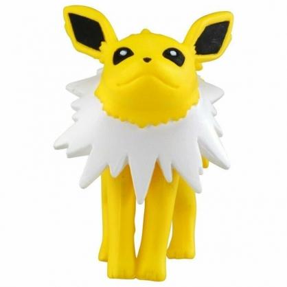 〔小禮堂〕神奇寶貝Pokemon 雷伊布 迷你塑膠公仔玩具《黃》寶可夢公仔.模型