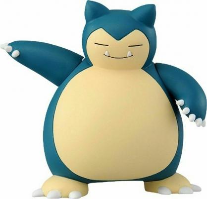 〔小禮堂〕神奇寶貝Pokemon 卡比獸 迷你塑膠公仔玩具《綠》寶可夢公仔.模型