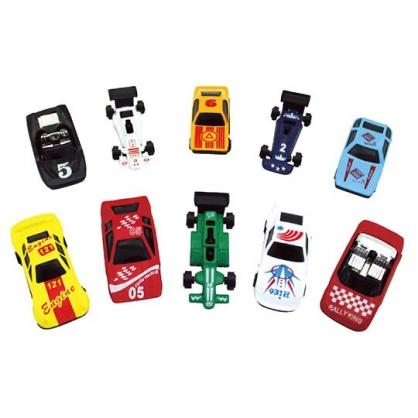 〔小禮堂〕迷你塑膠迴力車組《10入.紅盒裝》小汽車.玩具車.兒童玩具