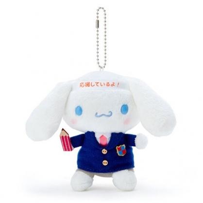 〔小禮堂〕大耳狗 制服絨毛玩偶娃娃吊飾《藍白》掛飾.鑰匙圈
