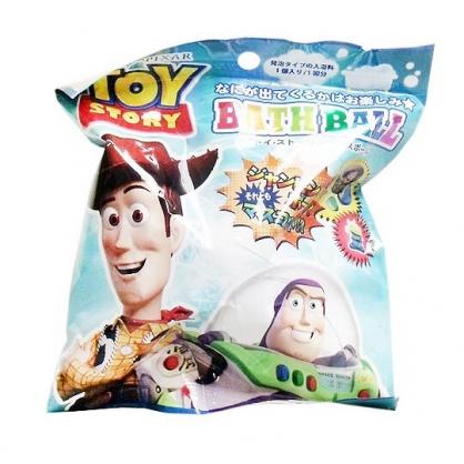 〔小禮堂〕迪士尼 玩具總動員 造型入浴球《6款隨機.綠.半身》入浴劑.泡澡球