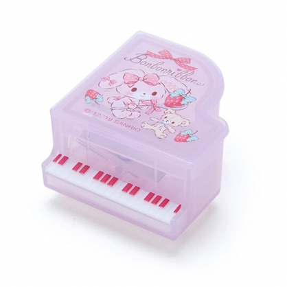 〔小禮堂〕蹦蹦兔 日製鋼琴造型單孔削筆器《紫》削鉛筆器.學童文具