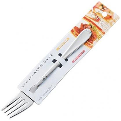 〔小禮堂〕日本KOHBEC 日製不鏽鋼叉子《銀》牛排叉