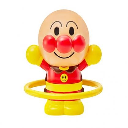 〔小禮堂〕麵包超人 全身造型塑膠呼拉圈玩具《紅棕》公仔.擺飾
