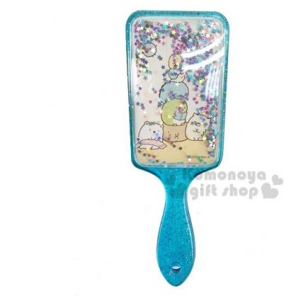 〔小禮堂〕角落生物 方頭流沙氣墊手握梳《藍》氣墊梳.直梳