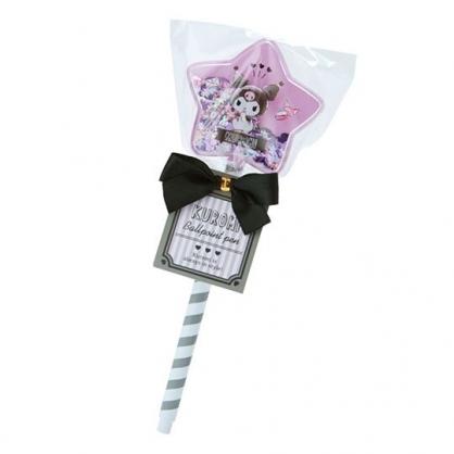 〔小禮堂〕酷洛米 流沙星星造型原子筆《紫》黑筆.造型筆
