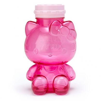 〔小禮堂〕Hello Kitty 全身造型透明塑膠電子存錢筒《桃粉》電子撲滿.儲金筒