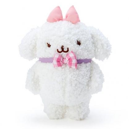 〔小禮堂〕布丁狗 瑪可蘿 換裝絨毛玩偶娃娃《S.白粉》擺飾.玩具.換裝娃娃
