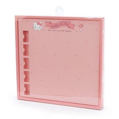 〔小禮堂〕Hello Kitty 演唱會彩帶收納紙盒《粉》彩帶置物盒.演唱會粉絲收納系列