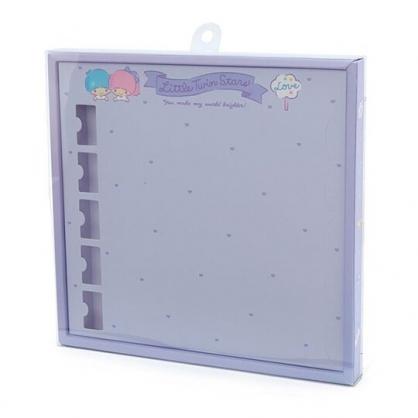 〔小禮堂〕雙子星 演唱會彩帶收納紙盒《紫》彩帶置物盒.演唱會粉絲收納系列