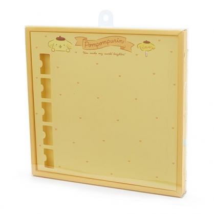 〔小禮堂〕布丁狗 演唱會彩帶收納紙盒《黃》彩帶置物盒.演唱會粉絲收納系列