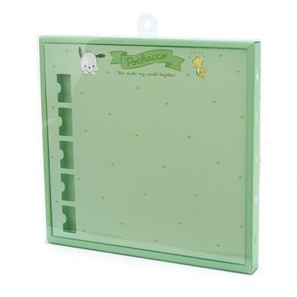 〔小禮堂〕帕恰狗 演唱會彩帶收納紙盒《綠》彩帶置物盒.演唱會粉絲收納系列