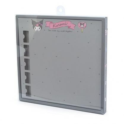 〔小禮堂〕酷洛米 演唱會彩帶收納紙盒《灰》彩帶置物盒.演唱會粉絲收納系列