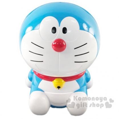 〔小禮堂〕哆啦A夢 全身造型塑膠存錢筒《藍白》擺飾.撲滿.儲金筒