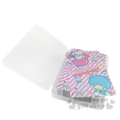 〔小禮堂〕雙子星 盒裝撲克牌《藍白.星星框》玩具.桌遊