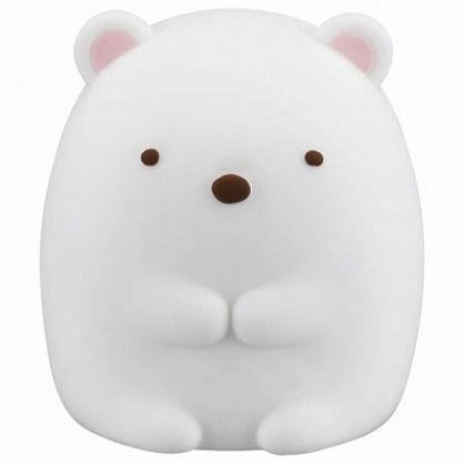 〔小禮堂〕角落生物 北極熊 迷你造型矽膠搖搖公仔玩具《白》動動玩具.模型