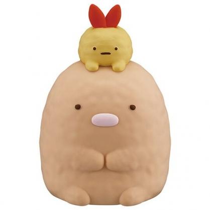 〔小禮堂〕角落生物 豬排 迷你造型矽膠搖搖公仔玩具《棕》動動玩具.模型