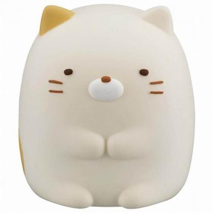 〔小禮堂〕角落生物 貓咪 迷你造型矽膠搖搖公仔玩具《黃》動動玩具.模型