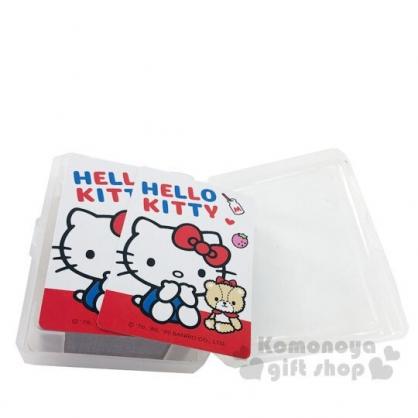 〔小禮堂〕Hello Kitty 盒裝撲克牌《紅白.小熊》玩具.桌遊
