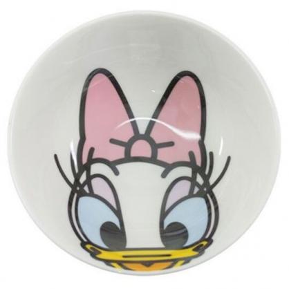 〔小禮堂〕迪士尼 黛西 陶瓷碗《白.大臉》200ml.飯碗.湯碗