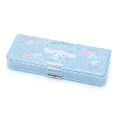 〔小禮堂〕大耳狗 雙開多功能鉛筆盒《淡藍》筆袋.學童文具.彩虹獨角獸系列