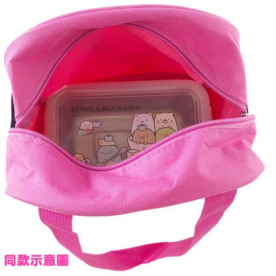 〔小禮堂〕迪士尼 蒂蒂 方形皮質手提便當袋《棕.半臉》手提袋.野餐袋