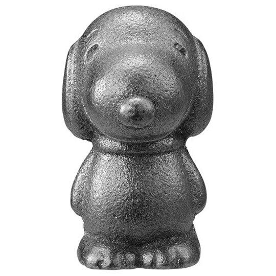 〔小禮堂〕史努比 日製南部鐵器鐵玉《銀.站姿》補鐵