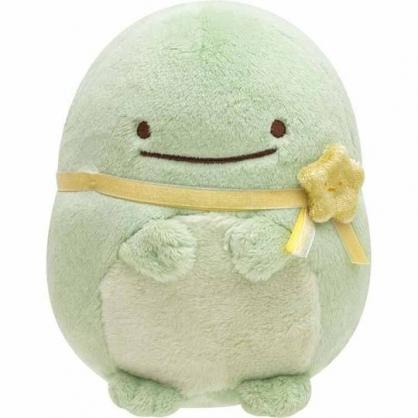 〔小禮堂〕角落生物 恐龍 沙包絨毛玩偶娃娃《S.黃緞帶》擺飾.玩具