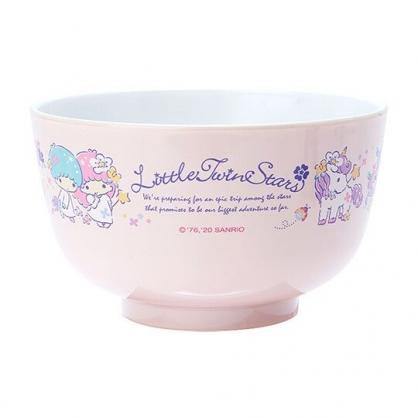 〔小禮堂〕雙子星 日製可微波美耐皿碗《紫》微波碗.飯碗.塑膠碗