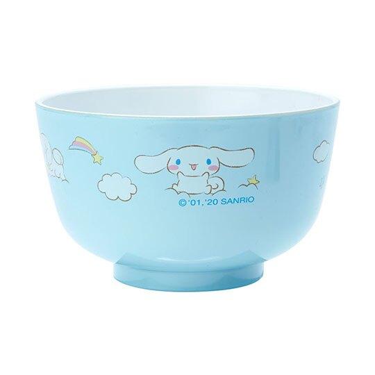 〔小禮堂〕大耳狗 日製可微波美耐皿碗《藍》微波碗.飯碗.塑膠碗