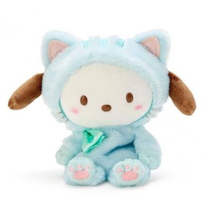 〔小禮堂〕帕恰狗 沙包絨毛玩偶娃娃《S.藍》沙包玩具.擺飾.變裝貓咪系列