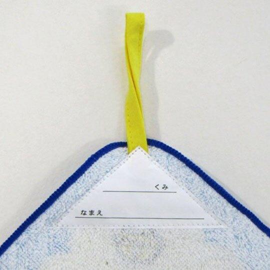 〔小禮堂〕哆啦A夢 可掛式純棉割絨擦手巾《藍米.道具》33x33cm.毛巾