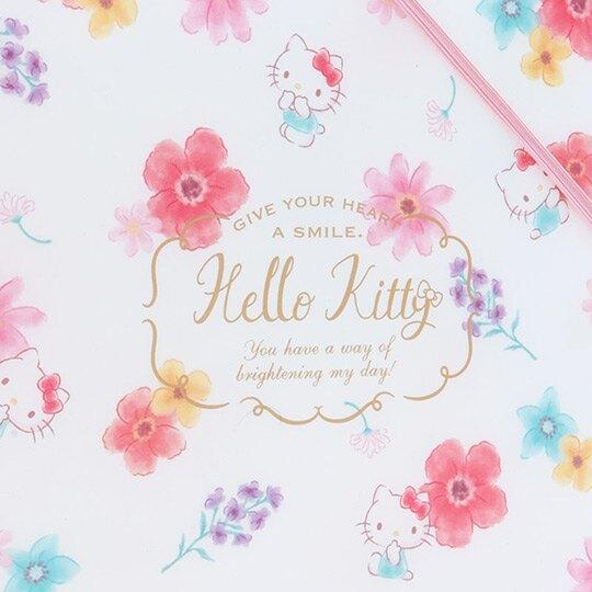 〔小禮堂〕Hello Kitty 8頁A4資料本資料夾《白》檔案夾.文件夾.幸福女孩系列