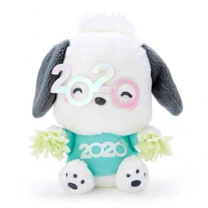 〔小禮堂〕帕恰狗 沙包絨毛玩偶娃娃《S.綠》沙包玩具.擺飾.2020花漾系列