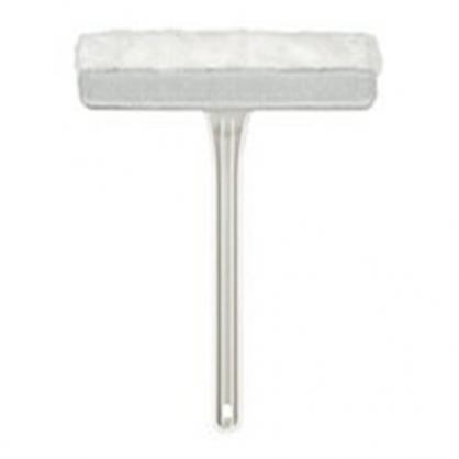 〔小禮堂〕日本SEAL 可掛式短柄紗窗清潔刷《白》刷具.窗戶刷.除塵刷