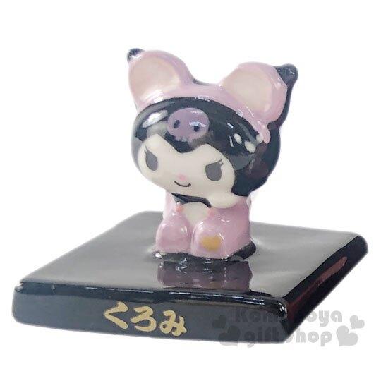 〔小禮堂〕Sanrio大集合 鼠年迷你造型陶瓷擺飾組《10入》招福公仔.新春擺飾