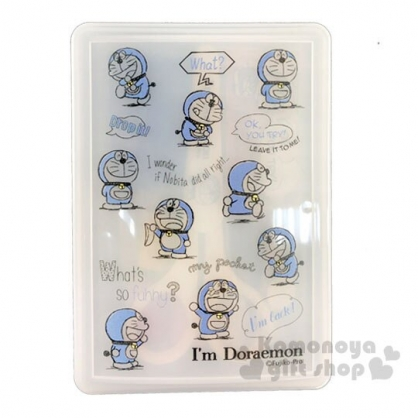 〔小禮堂〕哆啦A夢 日製針線用品盒《藍白.50週年》縫紉用品.針線包
