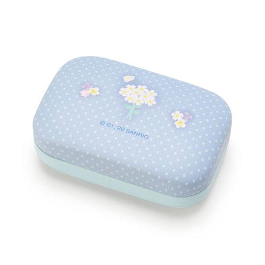〔小禮堂〕大耳狗 迷你方形皮質硬殼收納盒《藍》置物盒.飾品盒.春日新生活系列