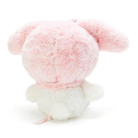 〔小禮堂〕美樂蒂 絨毛玩偶娃娃《S.白》玩具.擺飾.燦爛櫻花系列