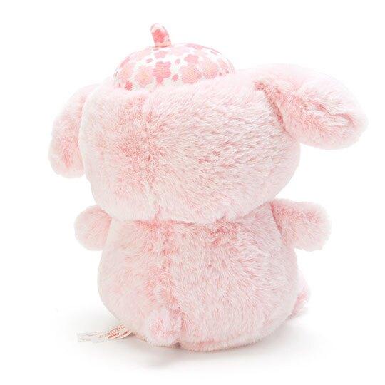 〔小禮堂〕布丁狗 絨毛玩偶娃娃《S.粉》玩具.擺飾.燦爛櫻花系列